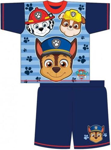 PAW PATROL BLUE Summer Pjs Pyjama 3/4 LEFT