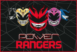 Power Rangers Throw Size Fleece Blanket