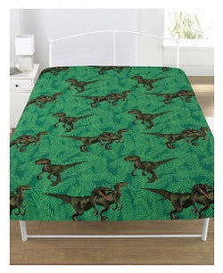 PRE ORDER DINOSAUR Single fitted sheet ONLY