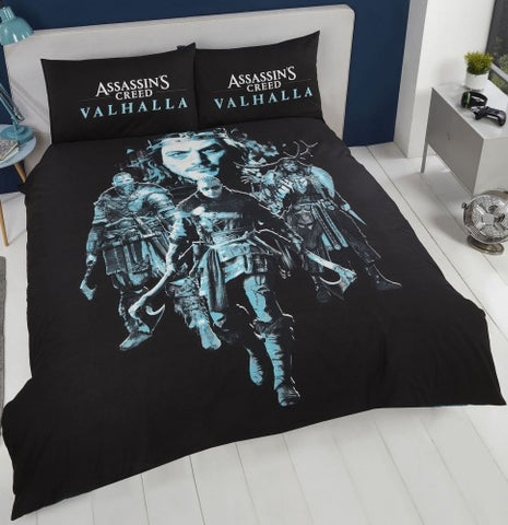 Assassins Creed Valhalla Double to queen Quilt Cover Set