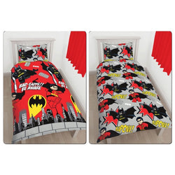 Lego Batman Single Quilt Cover Set