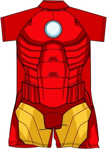 Iron Man MARVEL COMIC Swim suit swimmers