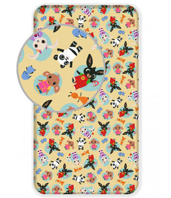BING BUNNY Single fitted sheet ONLY