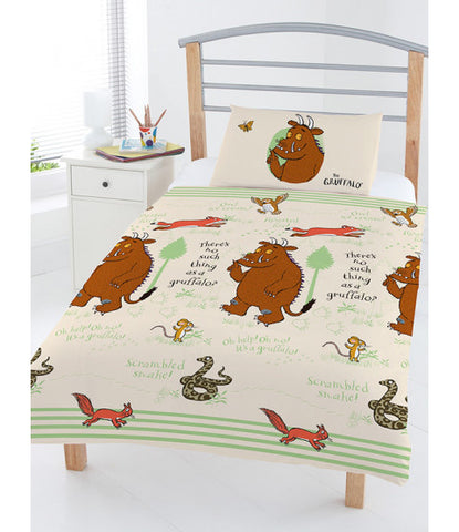 THE GRUFFALO - Toddler Bed/Cot Quilt Cover Set