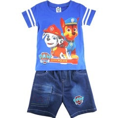 Paw Patrol Outfit - tee / shorts