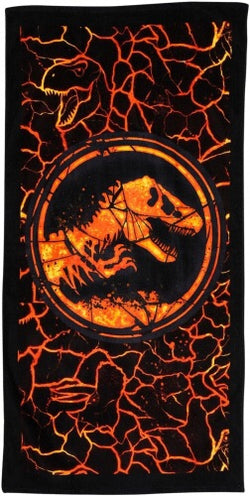 PRE ORDER Dinosaur Jurassic World Licensed Towel