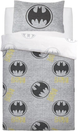 Batman Lego Grey Single Quilt Cover Set