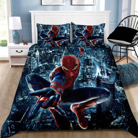 Spiderman Quilt Cover Set