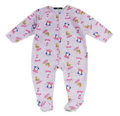 Baby winter onesie - christmas