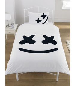DJ Mello Marshmello Reversible Licensed Single Quilt Cover Set