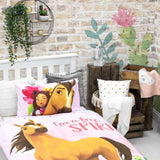Spirit Riding Free Reversible Single Quilt Cover Set