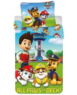 Paw Patrol Cotton Single quilt cover set EU Case