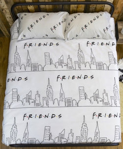 Friends Scene Licensed Double to Queen Quilt Cover Set POLYESTER