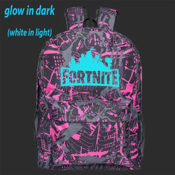 Fortnite Backpack - Pink Grey Glow