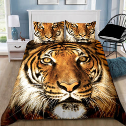 Tiger Quilt Cover Set DOUBLE