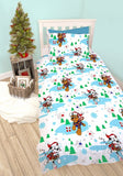 PRE ORDER Paw Patrol Christmas Single Quilt Cover Set