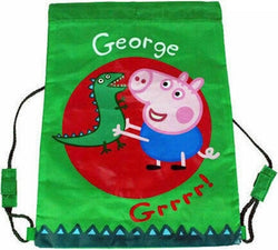 GEORGE PIG Drawstring Bag