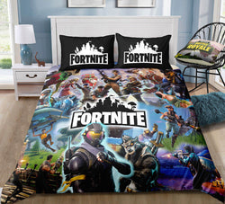 Fortnite Quilt Cover Set - X