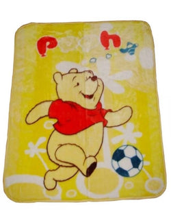 Winnie the Pooh Throw Size Faux Mink Blanket