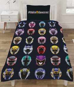 Power Rangers Reversible Single Quilt Cover Set