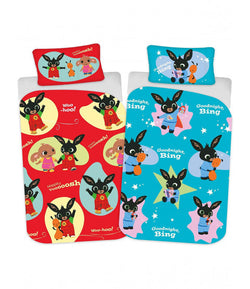 BING BUNNY - Toddler Bed/Cot Quilt Cover Set