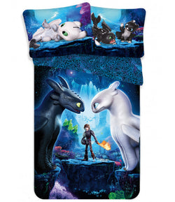 How to train your dragon Single quilt cover set EURO Case