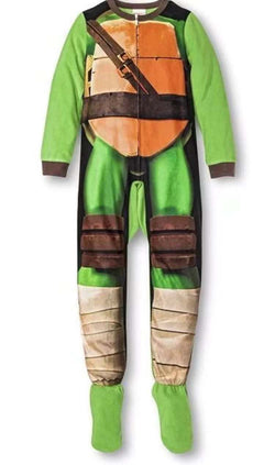 TMNT Thin Onesie With Feet Size 4 left