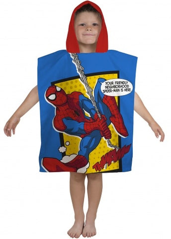 Hooded towel - Spiderman