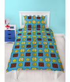 PRE ORDER MARIO Polyester Single Quilt Cover Set