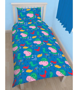 PRE ORDER George Pig Single Quilt Cover Set
