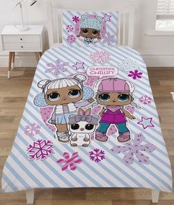 LOL Surprise Doll Single Quilt Cover Set Christmas