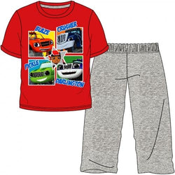 BLAZE Summer Pjs Pyjama - Long pant, Short Top