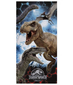 Dinosaur Jurassic World Licensed Towel