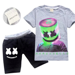 PRE ORDER Marshmello outfit with grey tee