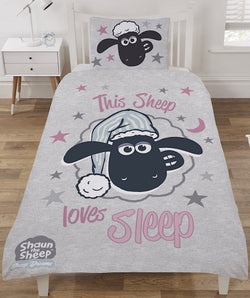 Shaun the Sheep Single Quilt Cover Set
