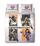Overwatch Grid Double to Queen Quilt Cover Set