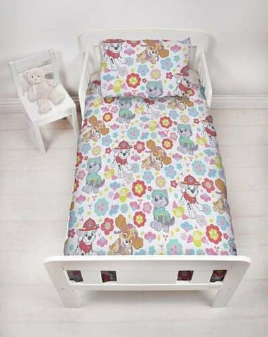 Paw Patrol GIRL - Toddler Bed/Cot Quilt Cover Set