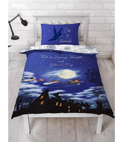 Peter Pan Single Quilt Cover Set