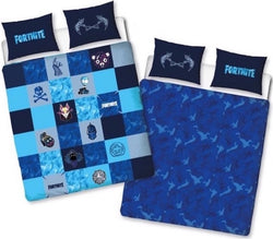 Licensed Fortnite Double to Queen Quilt Cover Set