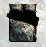 Wolf Dream Catcher Quilt Cover Set