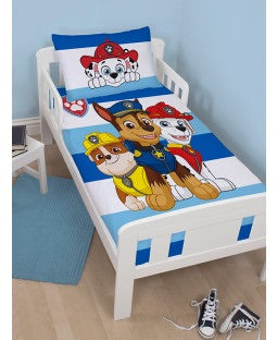 PRE ORDER PAW PATROL - Toddler Bed/Cot Quilt Cover Set