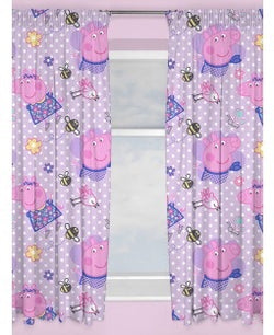 Peppa Curtains 54 inch drop