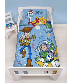 TOY STORY ROAR - Toddler Bed/Cot/ Junior Quilt Cover Set