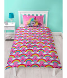 Trolls Single Quilt Cover Set