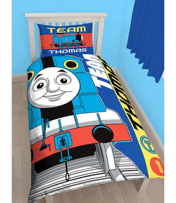 Thomas The Tank Engine Single Quilt Cover Set