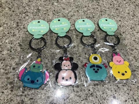 Keyring Minnie Pooh Mickey monster