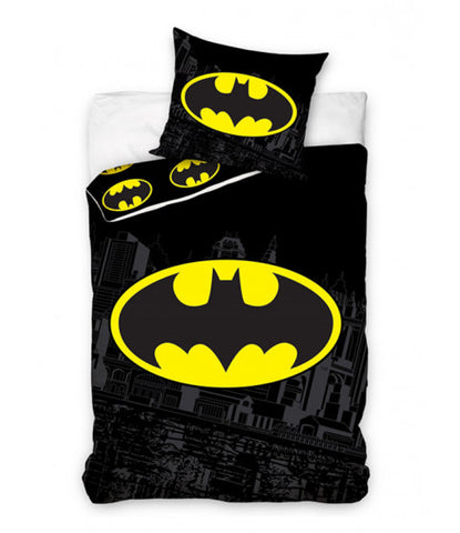 Batman Cotton Single Quilt Cover Set EURO Case