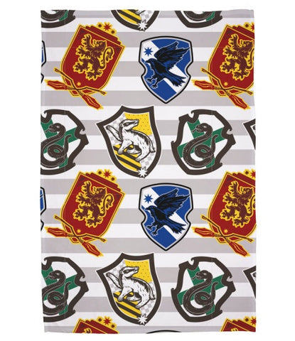 Harry Potter Throw Size Fleece Blanket (SUPER SOFT)