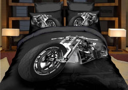 Motorbike Quilt Cover Set