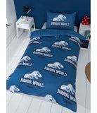 Jurassic World Dinosaur Single Quilt Cover Set